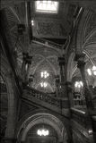 Main Staircase - Glasgow City Chambers Royalty Free Stock Photo