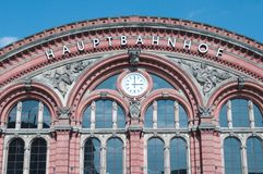 Main station Bremen Royalty Free Stock Images