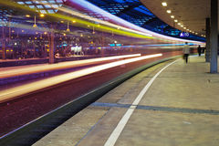 At the main station in cologne Royalty Free Stock Photos