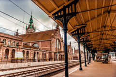 Main station of Gdansk Stock Images