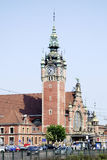 Main station of Gdansk in Poland Stock Photography