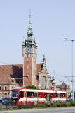 Main station of Gdansk in Poland Stock Images