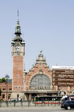 Main station of Gdansk in Poland Stock Photo