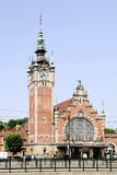Main station of Gdansk in Poland Royalty Free Stock Images