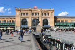 Main Station of Hanover, Germany. Royalty Free Stock Photo