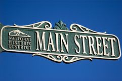 Main street Stock Photos
