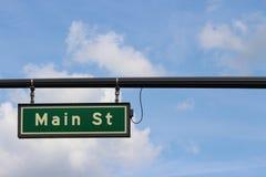 Main Street Arkivbilder