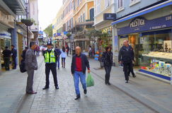 Main Street Fotografia Stock