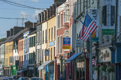 Main Street of Bantry in County Cork Ireland Royalty Free Stock Images