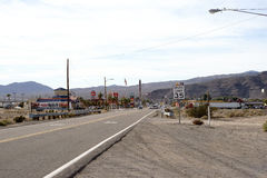 Main Street in Barstow Stock Photography