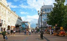 Main street Bolshaya Pokrovskaya Nizhny Novgorod Stock Images