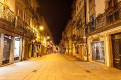 Main street, Braga Stock Images