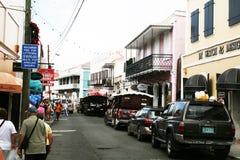 Caribbean shops Royalty Free Stock Photo