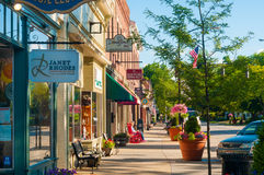 Main Street charm Stock Photography