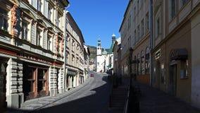 Old city of Banska Stiavnica, Slovakia Stock Images