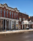 Main Street in Cooperstown Stock Images