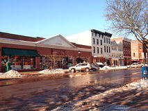 Main Street in Cooperstown Royalty Free Stock Photography
