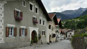 Filisur, Graubunden Canton, Switzerland Royalty Free Stock Photography
