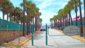 Main Street Daytona FL stock videobeelden