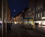 Main Street de Graz Images stock