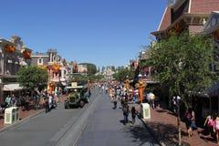 Main Street, de V.S., Disneyland  Royalty-vrije Stock Afbeelding