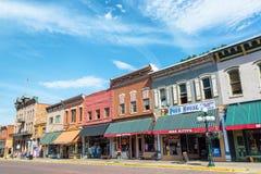 Main Street in Deadwood South Dakota Royalty Free Stock Image
