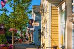 Main Street der Hudson stockfotos