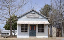 Main Street die Post in Oakland Tennessee uitwisselen Stock Fotografie