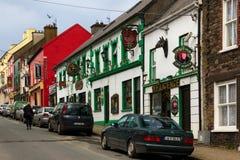 Main Street dingle ireland imagem de stock