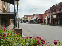 Main street, downtown, Van Buren, Arkansas Royalty Free Stock Images