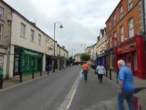 Main Street en Portlaoise Foto de archivo