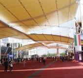 Main street, Expo 2015 Royalty Free Stock Photos