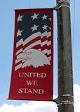 Main Street -Fahne Stockfoto