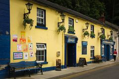 Fitzgerald`s pub. Avoca. Wicklow. Ireland Stock Photos