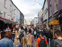 Main Street Galway City Stock Photography
