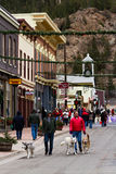 Main street of Georgetown Royalty Free Stock Photography