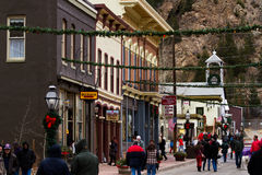 Main street of Georgetown Stock Photography