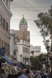 Main Street Gibraltar.  Stock Photography