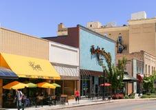 Main Street Grand Junction Imagem de Stock