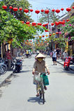 The Main Street of Hoi An, Vietnam. Stock Image