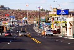 Main Street in Holbrook royalty-vrije stock foto