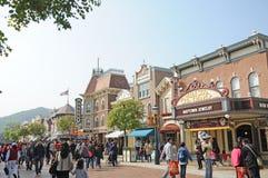 Main Street of hong kong Disney Royalty Free Stock Photo
