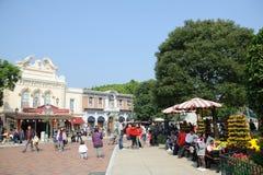 Main Street of hong kong Disney Stock Photos