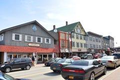 Main Street im Lake Placid, NY, USA Stockfoto