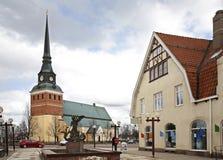 Free Main Street In Mora. Sweden Royalty Free Stock Photos - 53546978