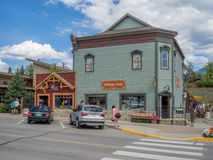 Free Main Street In The Town Of Invemere Stock Photography - 57998462