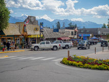 Free Main Street In The Town Of Invemere Stock Photography - 57998622