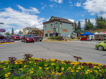 Free Main Street In The Town Of Invemere Stock Photo - 57998670