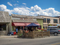 Free Main Street In The Town Of Invemere Stock Photo - 57999610