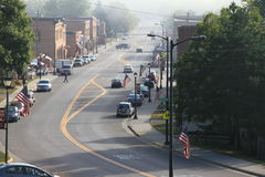 Main Street lantliga Amerika Royaltyfri Bild